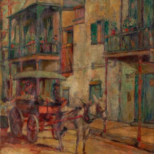 """New Orleans Carriage"" Harry A. Nolan, 1923"