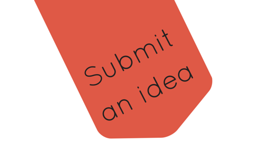 Submit an idea for