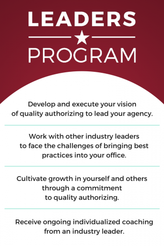Develop and execute your vision of quality authorizing to l